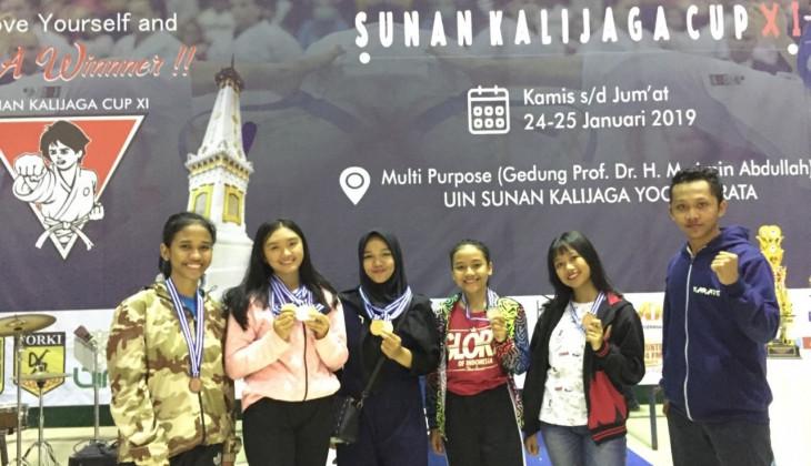 Karate UGM Raih 6 Medali Kejurnas Karate Sunan Kalijaga Cup XI