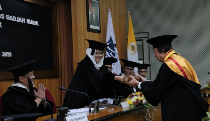 Philanthropist Tahir Earns Doctoral Degree at UGM