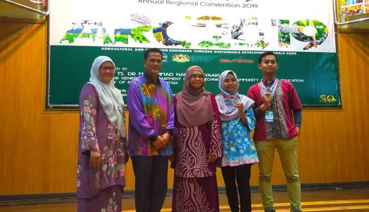 Mahasiswa FTP UGM Raih Dua Medali Kompetisi Mahasiswa Teknik Pertanian Tingkat ASEAN di Malaysia