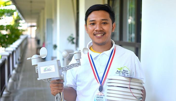 Kembangkan Sistem Monitoring Lahan Hantarkan Mahasiswa UGM Raih Penghargaan di Malaysia