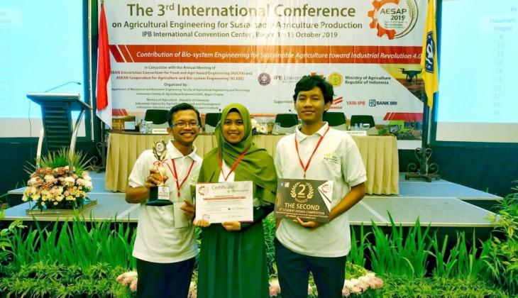 Mahasiswa FTP UGM Juara II Kompetisi Mahasiswa Teknik Pertanian Tingkat ASEAN