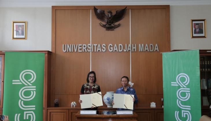 UGM dan Grab Kerja Sama Dukung Industri 4.0