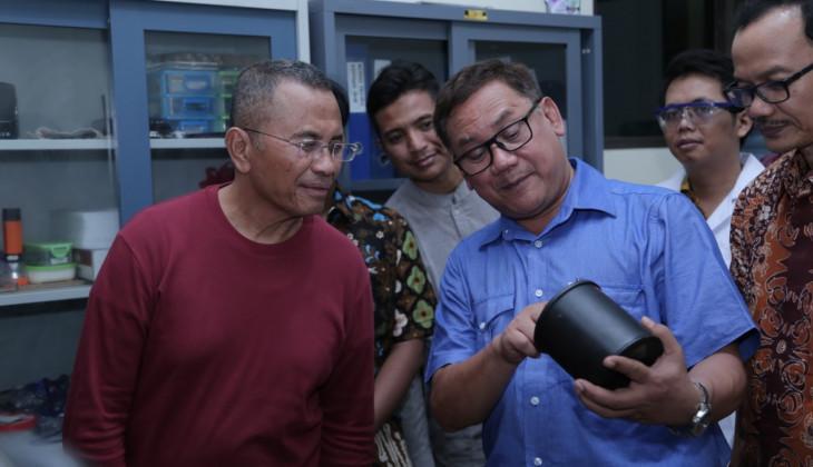 Tim Peneliti UGM Kembangkan Prototip Baterai Nuklir