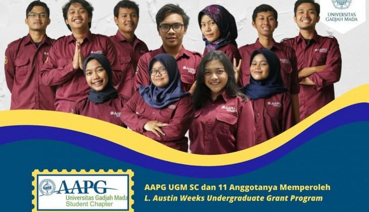 11 Mahasiswa AAPG UGM-SC Terima dana pendidikan L. Austin Weeks Undergraduate Grant Program