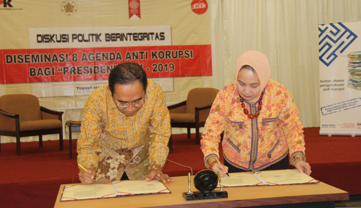 UGM and KPK Make Use of Publications to Prevent Corruption