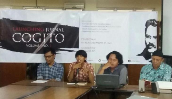 Mahasiswa Filsafat Launching Jurnal COGITO
