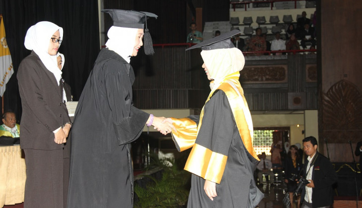 UGM Inaugurates 1,319 Graduate Students