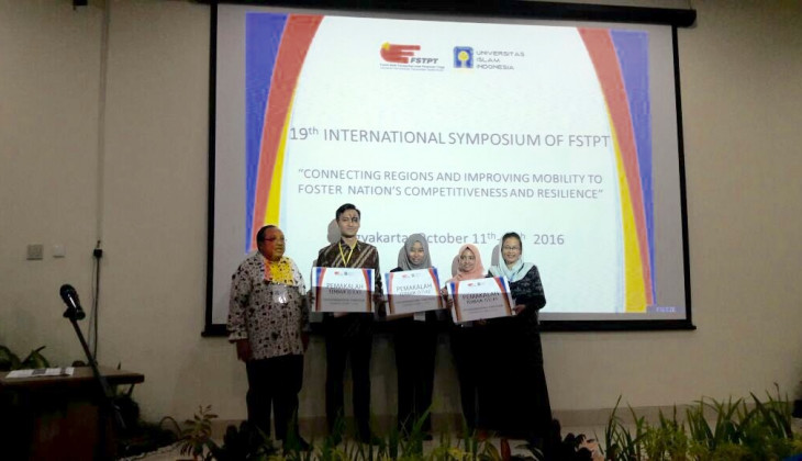 UGM Borong Gelar Juara dalam 19th International Symposium of FSTPT