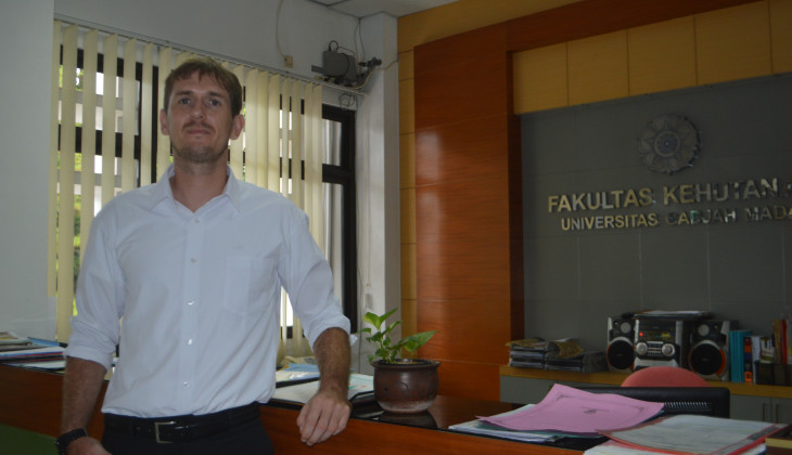 Alex, First German Doctoral Graduate from Faculty of Forestry UGM