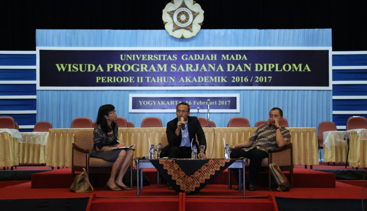 UGM Graduates Have to be Creative and Persevere