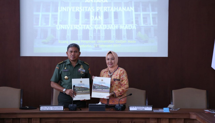 UGM - Indonesian Defense University Collaborate in Defence Technology Development