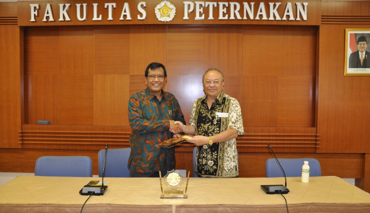 UGM Establishes Cooperation on Cattle Conservation