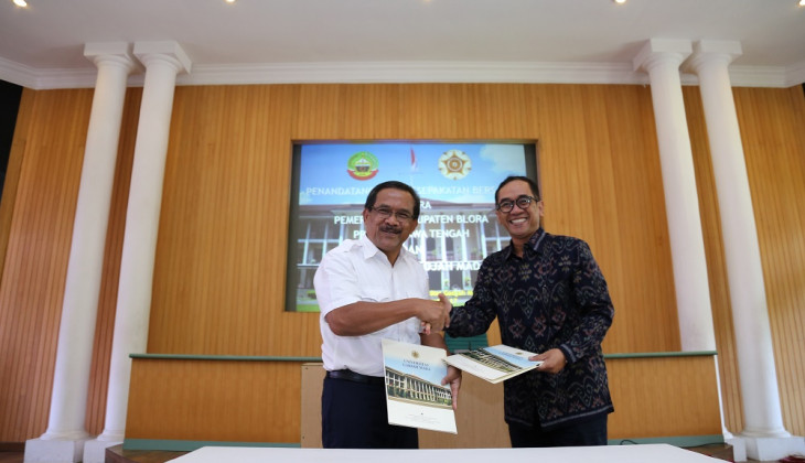 UGm - Blora Regency Establish Cooperation
