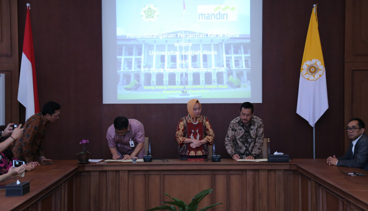 UGM and PT Bank Mandiri Establish Cooperation
