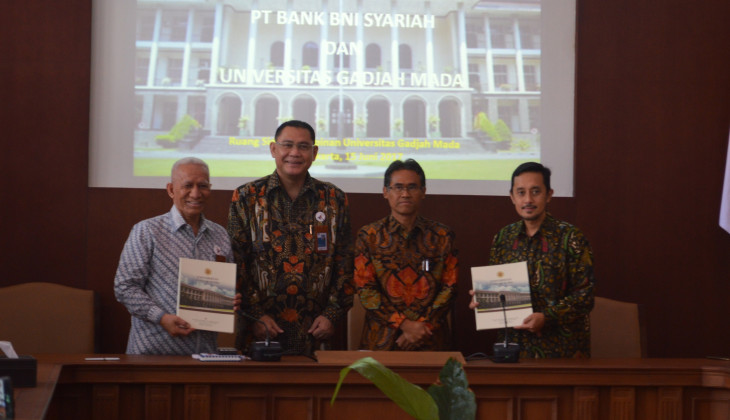 UGM dan PT Bank BNI Syariah Jalin Kerjasama